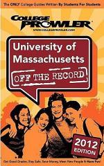 University of Massachusetts 2012