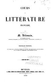 Cours de littérature française