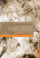 Elbeszélések 1926-1929