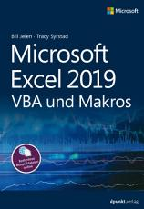Microsoft Excel 2019 VBA und Makros PDF