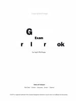 GMAT Exam Verbal Workbook PDF