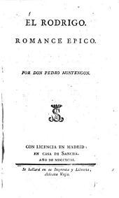 El Rodrigo: romance épico
