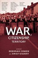 War  Citizenship  Territory PDF