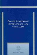 Finnish Yearbook of International Law PDF