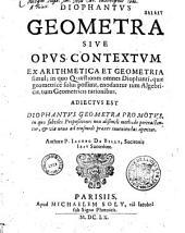 Diophantus geometra