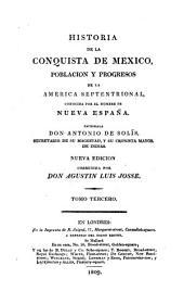 Historia de la conquista de Mexico: Volumen 3