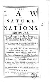 Of the Law of Natur and Nations