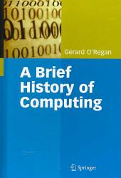 A Brief History Of Computing Book PDF
