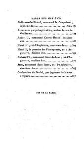 Histoire du duché de Normandie: Volume1