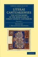 Literae Cantuarienses PDF
