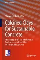 Calcined Clays for Sustainable Concrete PDF