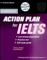 Action Plan for IELTS Self study Pack Academic Module PDF