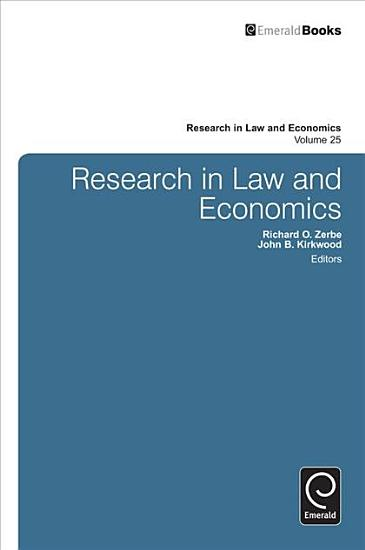 Research in Law and Economics PDF