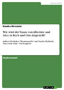 Wie wird der Traum von Albertine und Alice in Buch und Film dargestellt  PDF