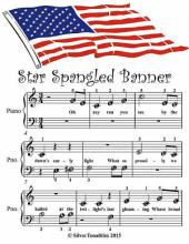 Star Spangled Banner - Beginner Tots Piano Sheet Music