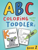 ABC Coloring Books for Toddlers Book2