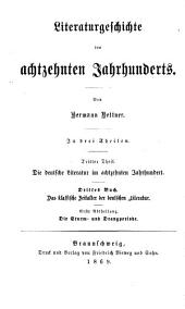 Die neuere Deutsche National-Literatur: nach ihren ethischen und religiösen Gesichtspunkten : zur innern Geschichte des deutschen Protestantismus, Band 2
