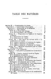 Cours de liturgie romaine, ou, Explication historique, littéraire et mystique des cérémonies de l'église: missel, brévaire, rituel, pontifical. Le Pontifical, Volume2
