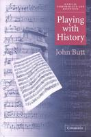Playing with History PDF