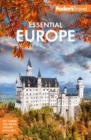 Fodor s Essential Europe PDF