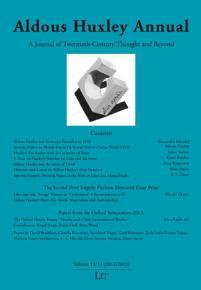 Aldous Huxley Annual  Volume 12 13  2012 2013  PDF