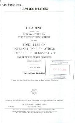 U S  Mexico Relations PDF