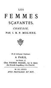 Les œuvres de Molière, avec notes & variantes par A. Pauly
