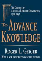 To Advance Knowledge PDF