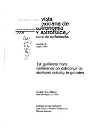 Revista Mexicana de Astronom  a Y Astrof  sica PDF