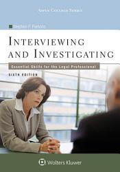 Interviewing And Investigating Book PDF