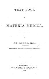 Text Book of Materia Medica