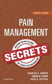 Pain Management Secrets: Edition 4