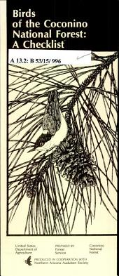 Birds of the Coconino National Forest: a checklist