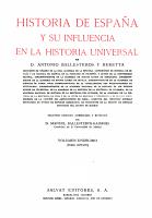 Historia de Espa  a y su influencia en la historia universal PDF