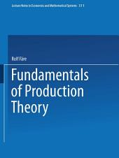 Fundamentals of Production Theory