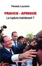 France-Afrique: La rupture maintenant ?