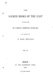 The Zend-Avesta: The Sîrôzahs, Yasts, and Nyâyis, translated by James Darmesteter