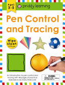 Wipe Clean Workbook  Pen Control and Tracing  enclosed spiral binding  PDF