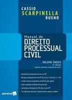 Manual de Direito Processual Civil Volume   nico PDF