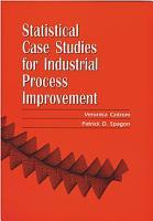 Statistical Case Studies for Industrial Process Improvement PDF
