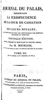 Journal du palais: Volume9