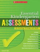 Essential Kindergarten Assessments