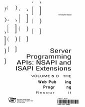 Server Programming Apis PDF