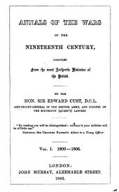Annals of the wars of the 19th century, compiled from the most authentic histories of the period