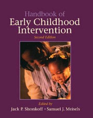 Handbook of Early Childhood Intervention PDF