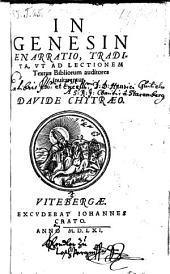 In Genesin enarratio (etc.)