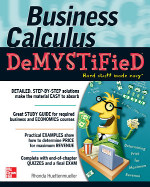 Business Calculus Demystified PDF