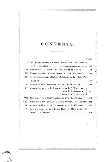 Collections of the Minnesota Historical Society PDF