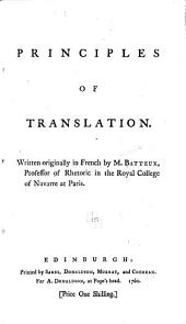 Principles of Translation
