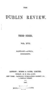 The Dublin Review: Volume 100